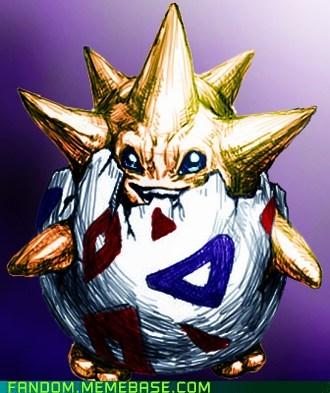 Fan Art Pokémon togepi - 5749591552