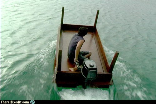 boat,dual use,furniture,g rated,neat,there I fixed it