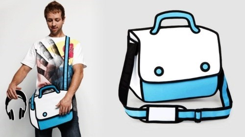 Hand-Drawn Bags,JumpFromPaper