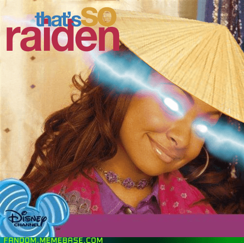 crossover disney It Came From the Interwebz raiden thats so raven