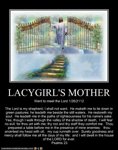 LACYGIRL'S MOTHER