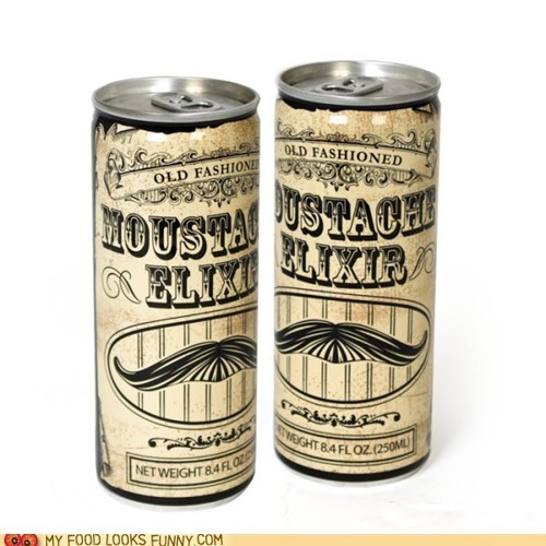 can elixir energy drink label moustache - 5751148288
