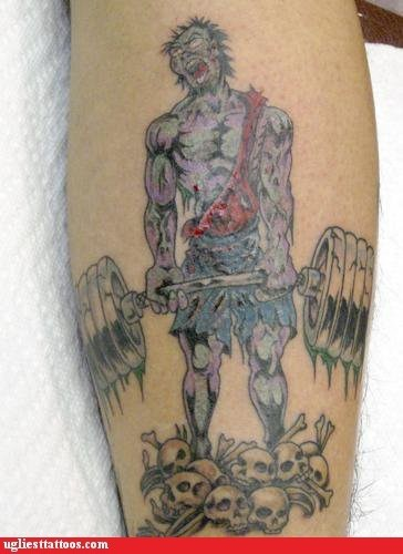 zombie deadlift