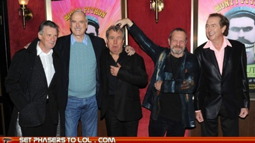 best of the week comedy eric idle John Cleese michael palin Movie news News and Reviews robin williams sci fi terry gilliam Terry Jones - 5751239168
