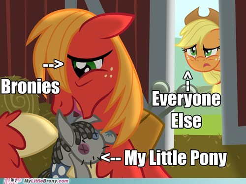 applejack big mac Bronies eeyup meme my little pony - 5751257856