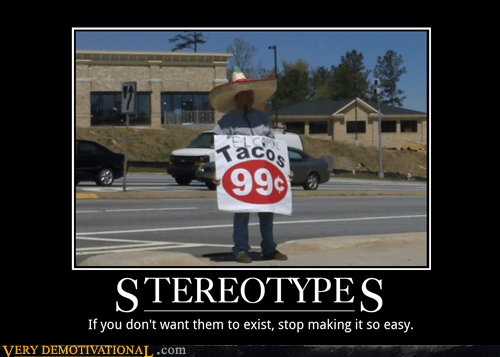 99 cents easy hilarious stereotype taco - 5751420928