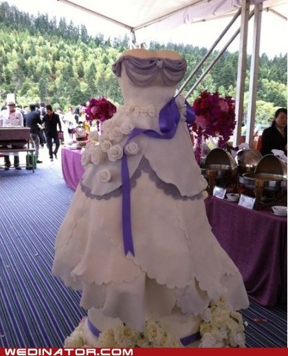 cakes dress funny wedding photos wedding cake wedding dress - 5751609856