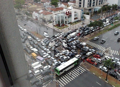 This is why we don't gridlock on the morning commute.