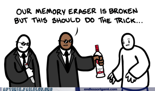 comic memory memory loss vodka - 5752720128
