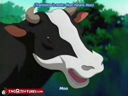 anime,cow,moo,obvious,translation,translator
