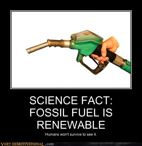 fact fossil fuel gas Sad science