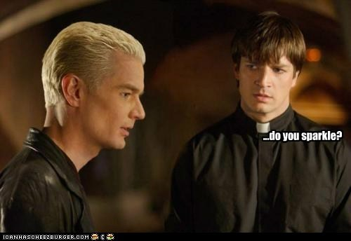 Buffy the Vampire Slayer caleb james marsters nathan fillion priest Sparkle spike - 5753203712