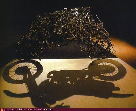 art motorcycle shadow wtf - 5753452032
