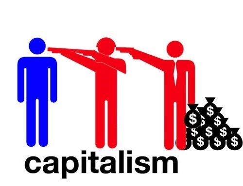list capitalism communism red guy blue guy politics socialism - 575493