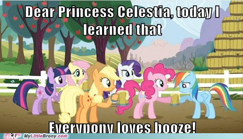 alcohol,apple cider,booze,letter to celestia,Party,pinkie pie,rainbow dash