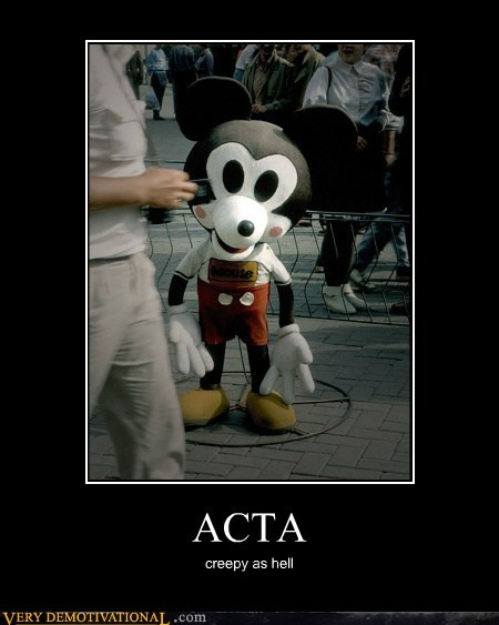 Acta congress is horrible creepy idiots mickey mouse NDAA PIPA SOPA