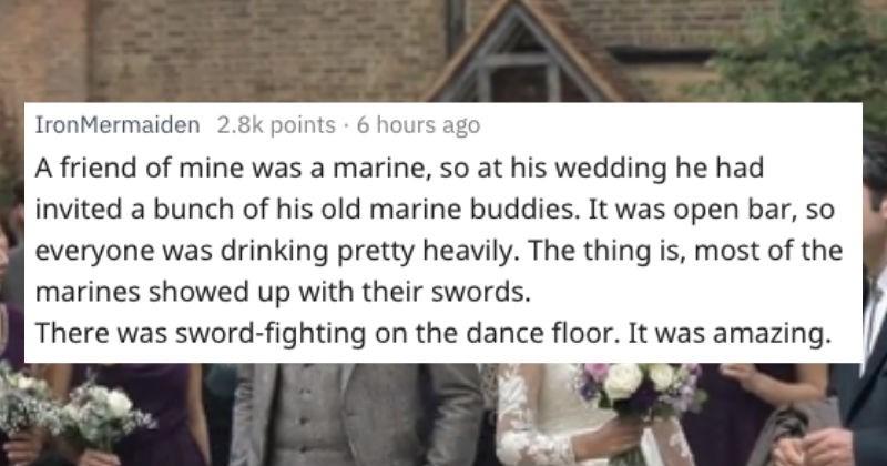 weird crazy weddings