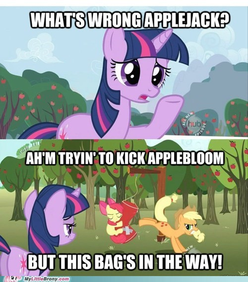 applebloom bag comic comics twilight sparkle - 5756950784