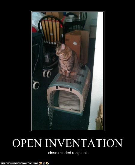 OPEN INVENTATION close minded recipient