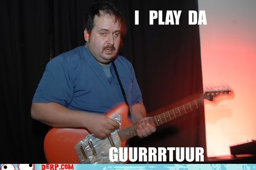 derp guitar Music notes - 5757634816