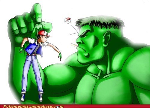 ash Awesome Art bad idea hulk Pokémon - 5757750528