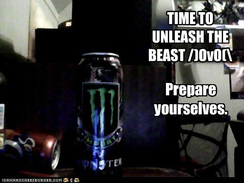 MONSTER TIME!