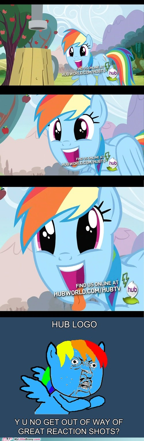 comic hub logo meme rainbow dash the hub url - 5758061568
