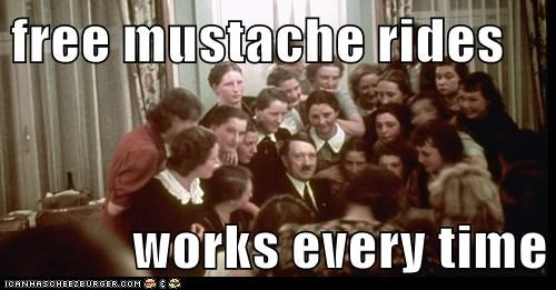 free mustache rides works every time