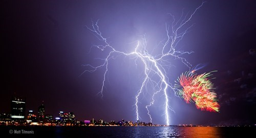 Australia Day,Damn Nature,Perth Sky Show