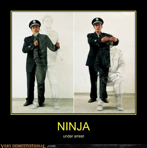 arrest ninja Pure Awesome wtf