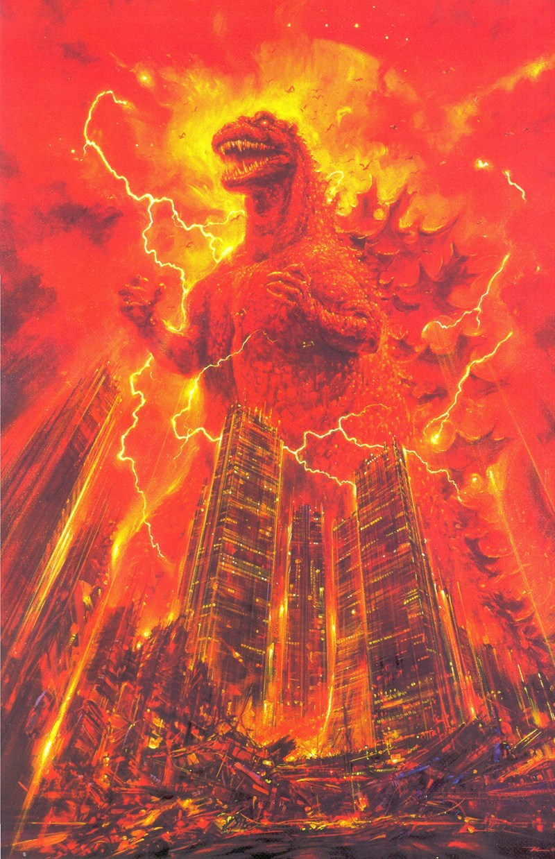 original godzilla movie posters