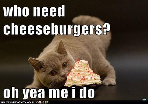 who need cheeseburgers?  oh yea me i do