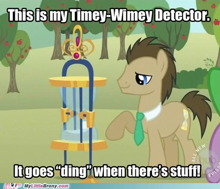ding doctor who dr-whooves meme timey-wimey - 5760709888
