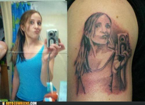self poortraits self poortrait tattoo - 5761244672