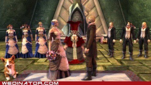 funny wedding photos geek Guinness World Record mmorpg online game rift video games