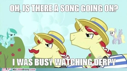 background ponies derpy hooves flim and flam ponies unicorns - 5762038272