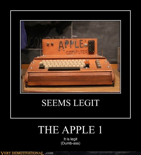 THE APPLE 1