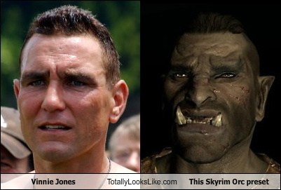 funny game orc Skyrim TLL Vinnie Jones
