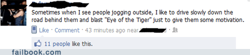 eye of the tiger failbook g rated jogging motivational Music win - 5762240000