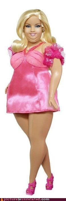 Barbie best of week doll obese wtf - 5762615040