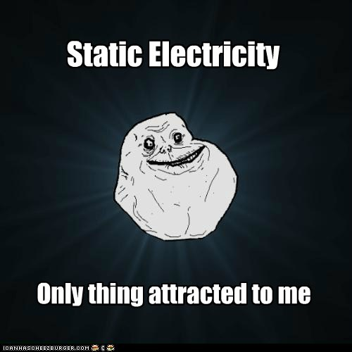 attraction,electricity,forever alone,sparks