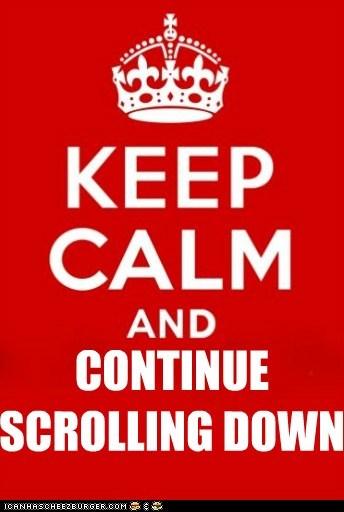 keep calm Memes meta scrolling - 5762749952