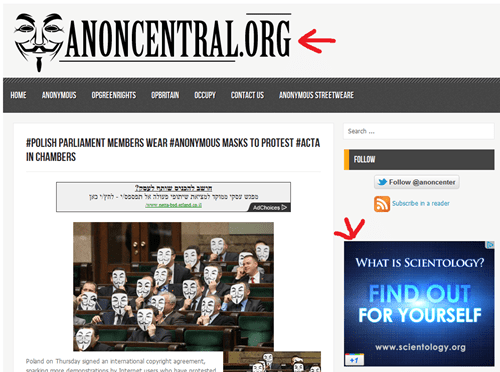 4chan,anonymous,irony,religion,scientology