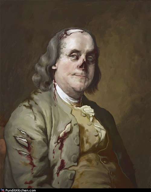 abraham lincoln Benjamin Franklin george washington political pictures - 5763674112