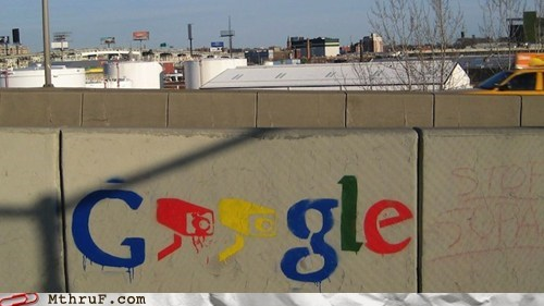 google graffiti security watching