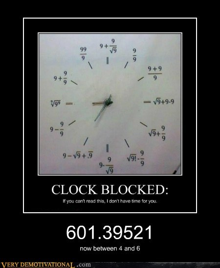 clock hilarious math wrong