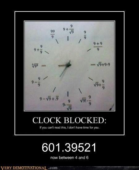 clock hilarious math wrong - 5763810816