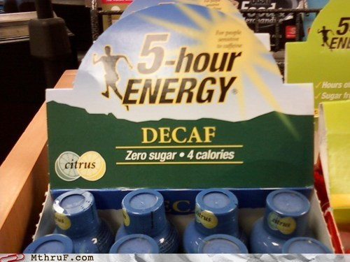 5-hour Energy,How Does It Work,no caffeine,no sugar