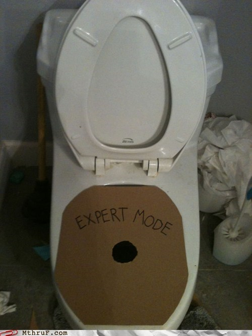 bathroom humor boss level expert mode toilets - 5764108288
