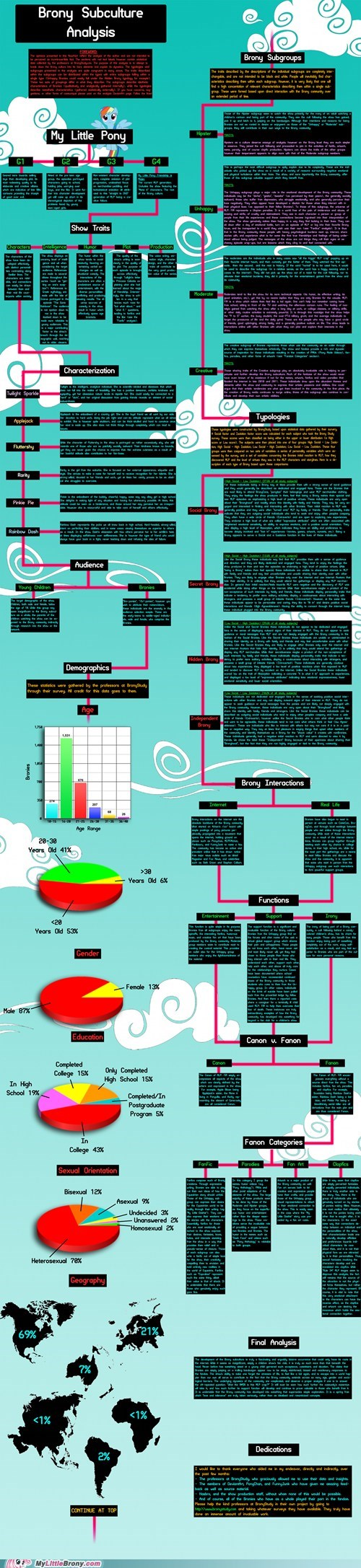 analysis awesome Bronies graphjam graphscharts infographic subculture - 5764335616